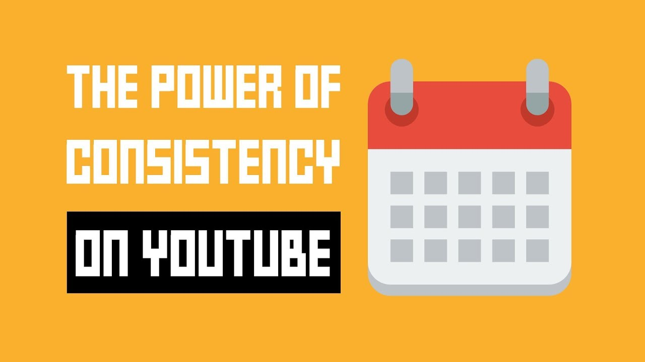 Power of consistency on youtube