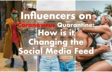 Influencers on coronavirus quarantine featured image