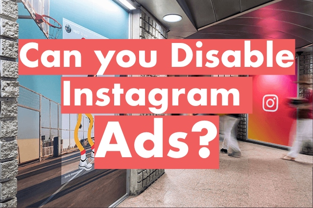 how to disable Instagram Sponsored ADS